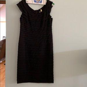 Adrianna Papell black dress size 14